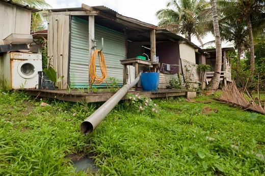 New Caledonia, Noumea, squat Sakamoto : Stock Photo