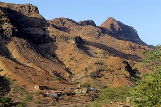 Africa, West Africa, Cape Verde (Cabo Verde), Santiago island, Serra Malagueta : Stock Photo