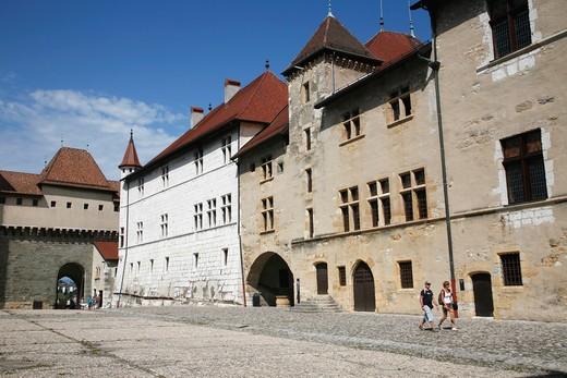 Stock Photo: 1606-102910 France, Rhone-Alpes, Haute-Savoie (74), Annecy castle