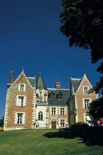 France, Centre, Indre Et Loire, Clos Lucé manor : Stock Photo
