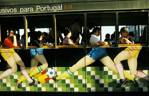 Portugal, Lisbon, railway : Stock Photo