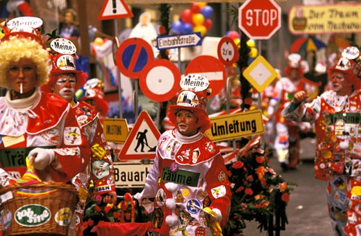 Germany , North Rhine-Westphalia, Köln, Rösenmontag carnival : Stock Photo