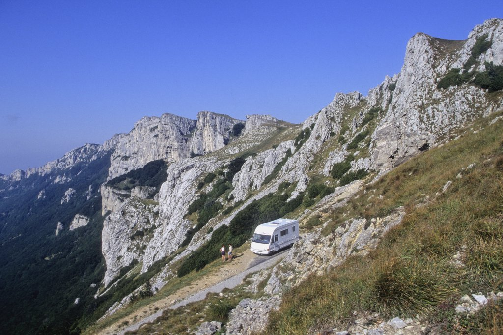 Stock Photo: 1606-106784 France, Rhone-Alpes, Drome (26), Vercors mountain near Loncel (Bataille mountain pass)