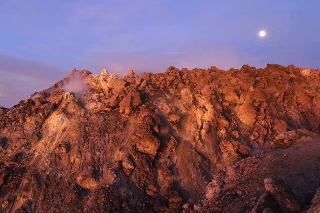Indonesia, Java, Mount Merapi : Stock Photo