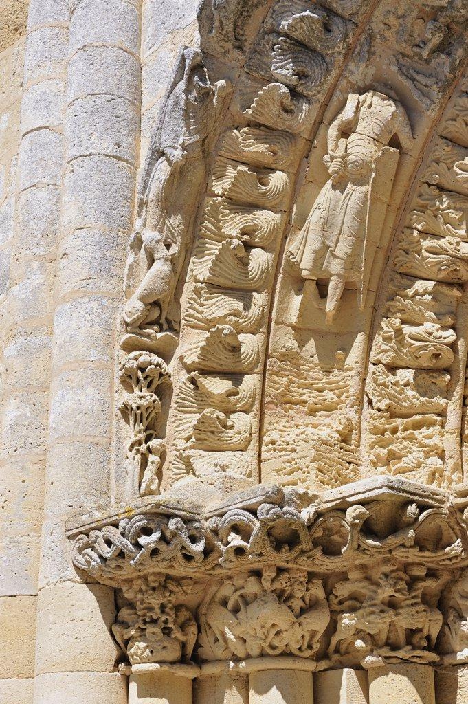 Stock Photo: 1606-109104 France, Aquitaine, Gironde, Blasimon church