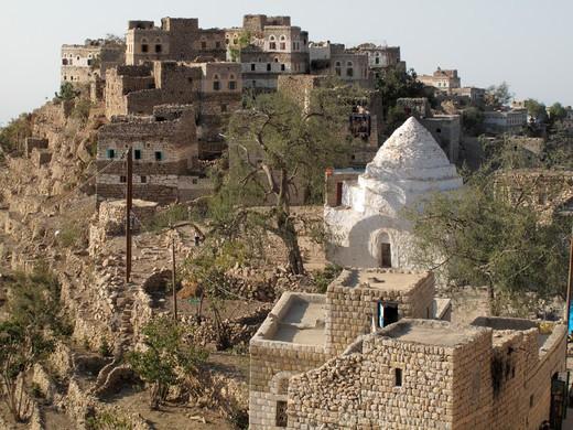 Yemen, Djebel Bura, Al-Ghailiyain : Stock Photo