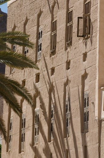 Yemen, Hadhramaut, Wadi Do'an, Al Khora?ba : Stock Photo