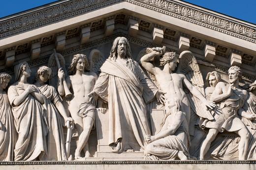 Stock Photo: 1606-112325 France, Paris, La Madeleine church
