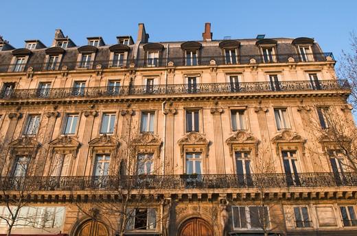 France, Paris, quai de la M?gisserie : Stock Photo