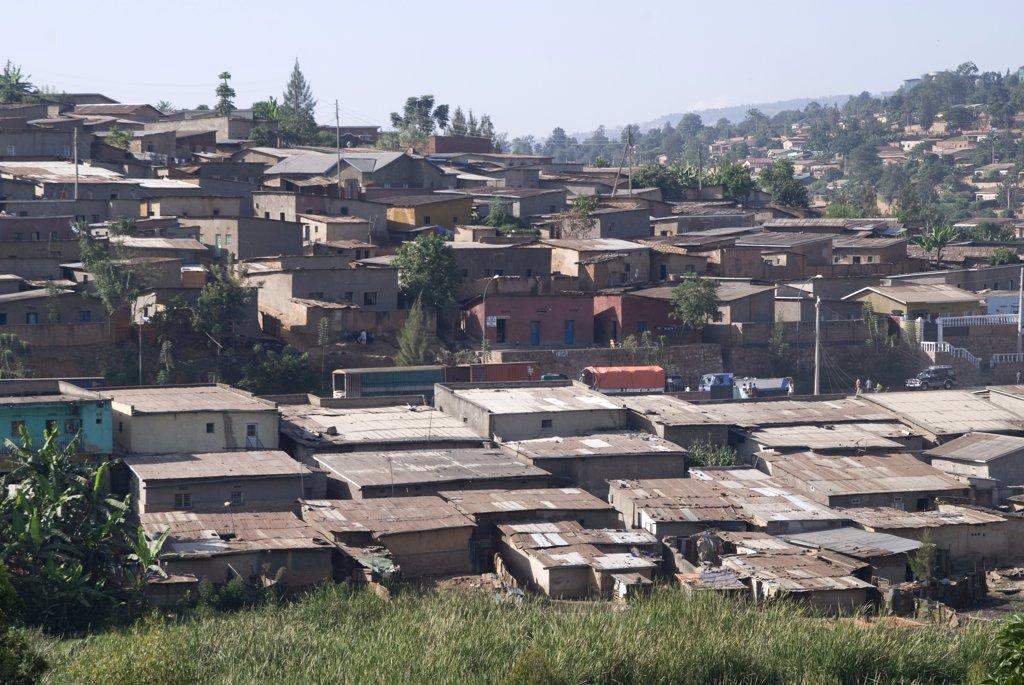 Rwanda, Kigali, general view : Stock Photo