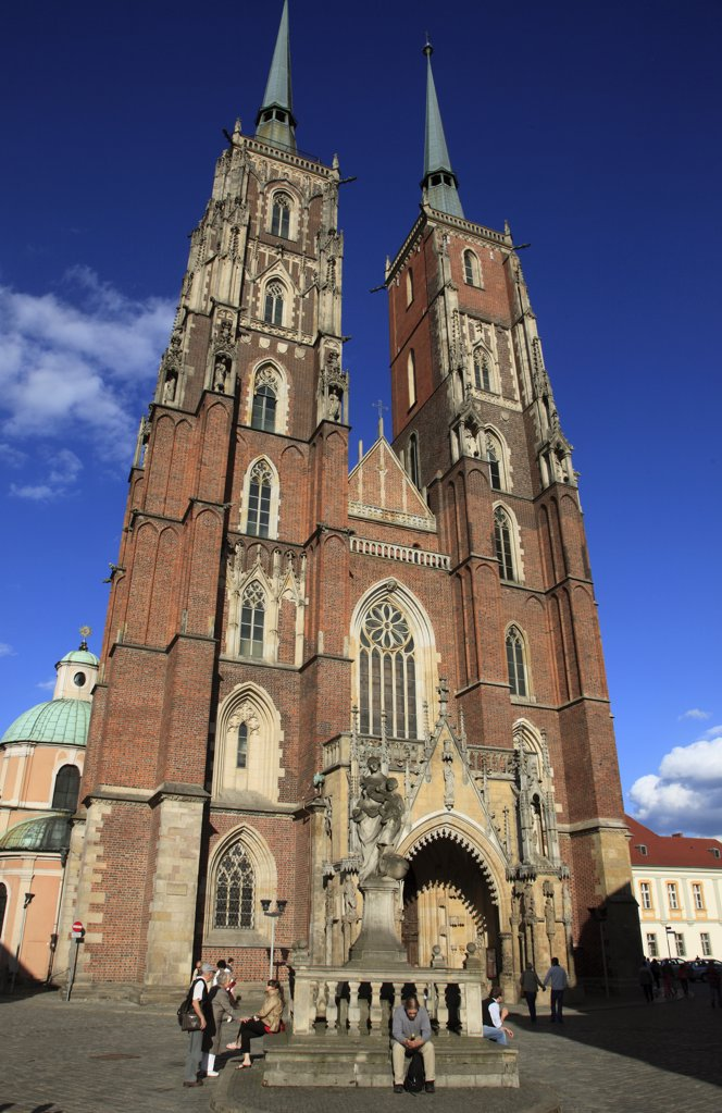 Poland, Wroclaw, Cathedral of St John the Baptist : Stock Photo