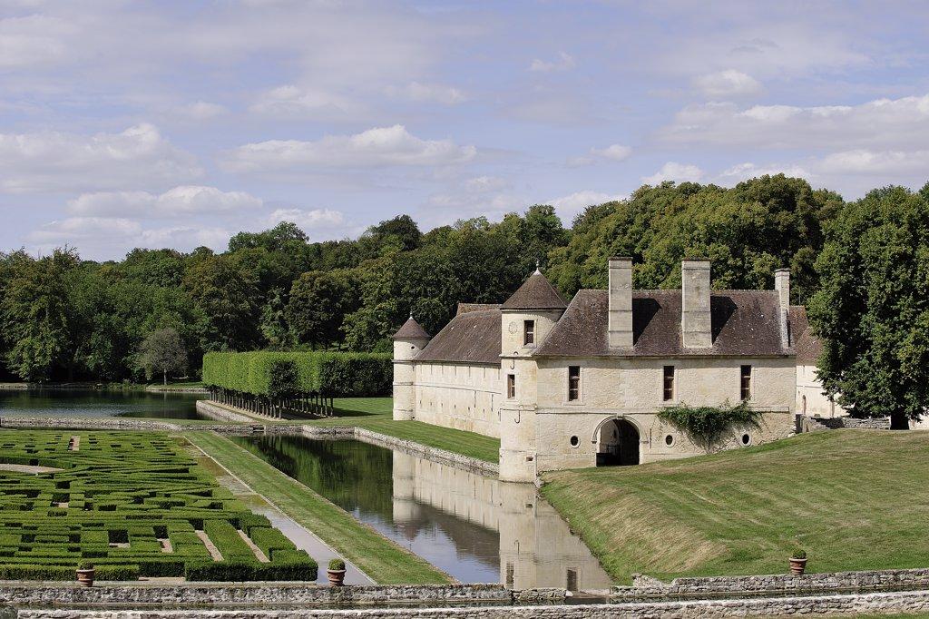 Stock Photo: 1606-115908 France, Paris region, Val d'Oise, Vexin, Domaine de Villarceaux