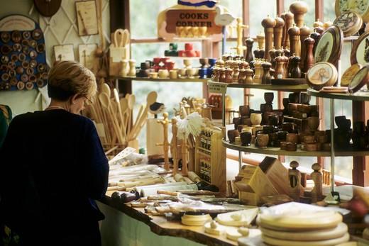 Stock Photo: 1606-117129 Guernsey, Oatlands Craft Village