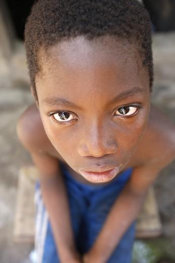 Stock Photo: 1606-118517 Togo, Lom?, Poor boy