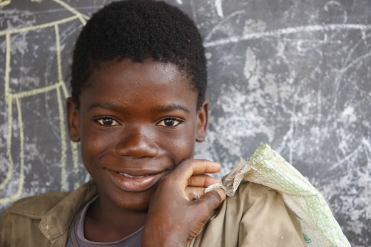Togo, Lom?, African boy : Stock Photo