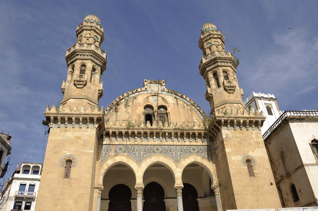 Algeria, Algiers, Casbah district, Ketchaoua mosque : Stock Photo