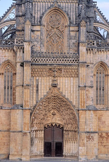 Portugal, Estremadure, Batalha monastry : Stock Photo