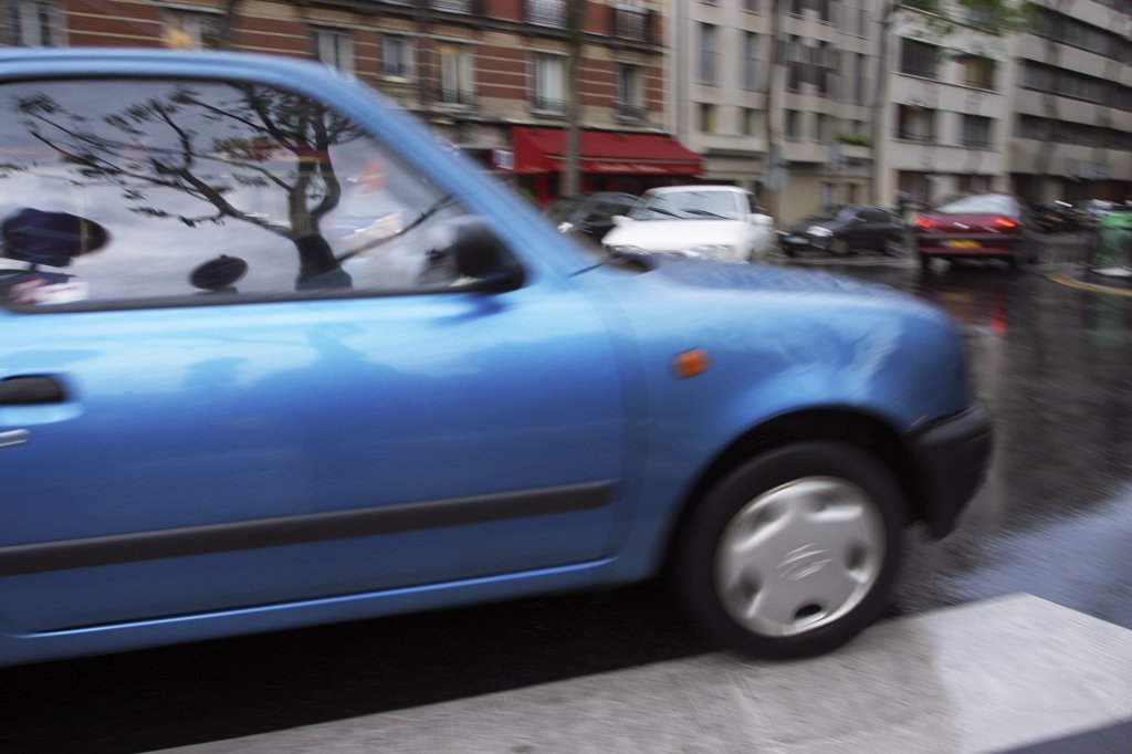 France, Paris, traffic : Stock Photo