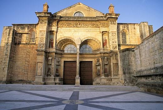 Stock Photo: 1606-11905 Dominican Republic, Santo Domingo, cathedral