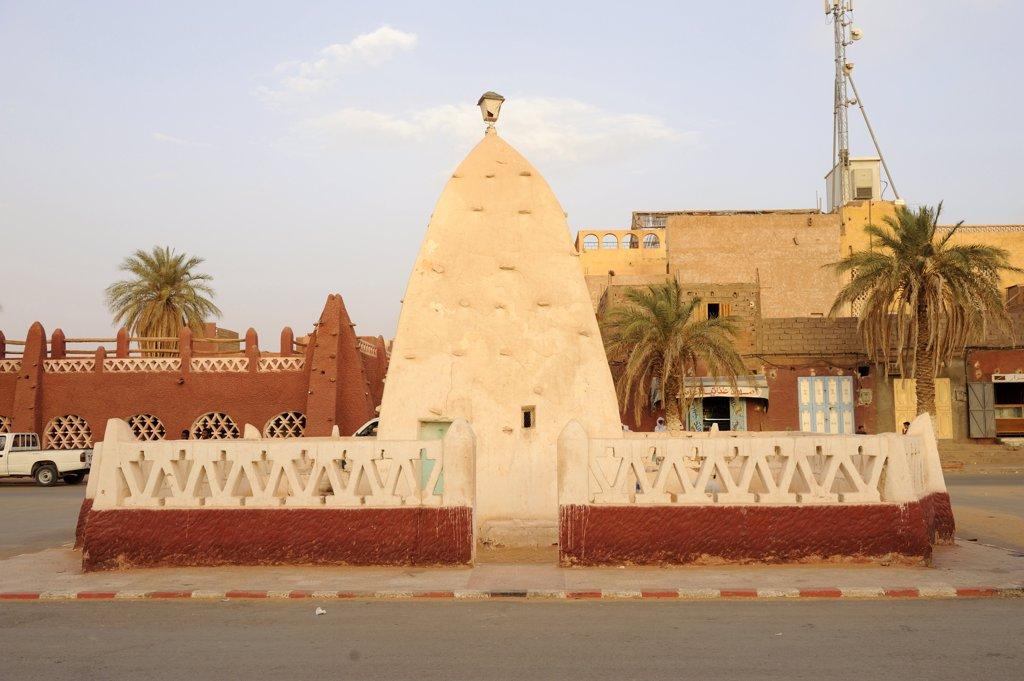 Stock Photo: 1606-119055 Algeria, Sahara, Gourara, Timimoun, Sidi Othmane marabout
