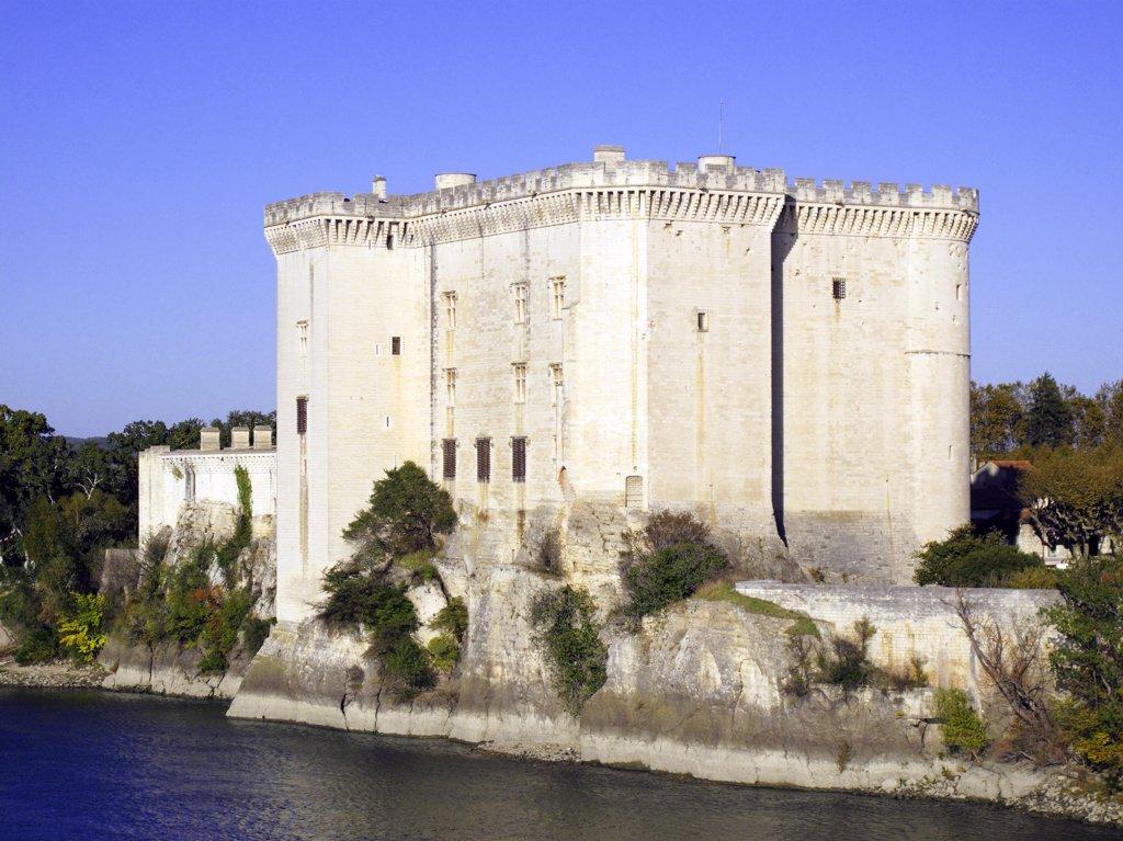France, Provence, Bouches du Rh?ne, Tarascon castle : Stock Photo