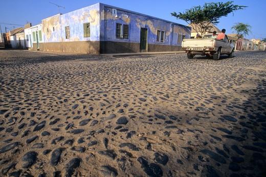 West Africa, Cape Verde (Cabo Verde), Sal Island, Santa Maria : Stock Photo