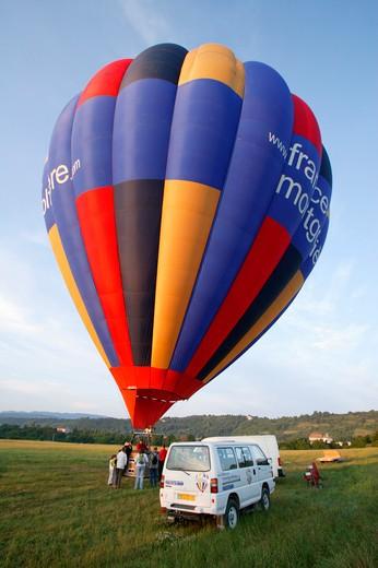 Stock Photo: 1606-122880 Hot air balloon
