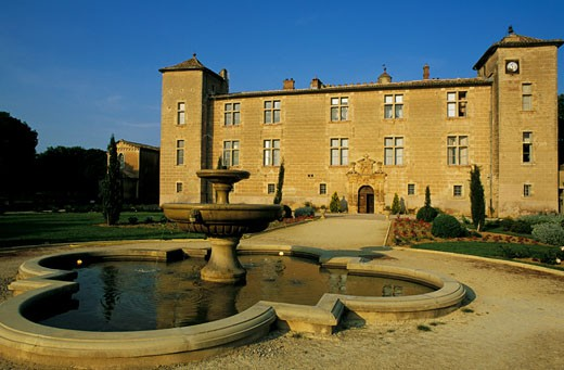 France, Languedoc-Roussillon, Hérault, Cambous castle : Stock Photo