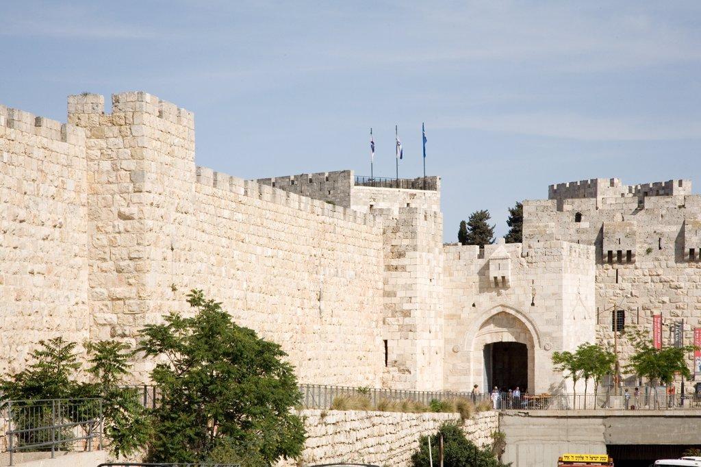 Israel, Jerusalem, old city : Stock Photo