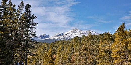 USA, Colorado, Rocky Mountains, Longs Peak : Stock Photo