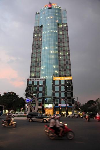 Stock Photo: 1606-126384 Vietnam, Ho Chi Minh City, Saigon, Sun Wah Tower