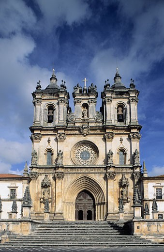 Stock Photo: 1606-12721 Portugal, Estremadura, Alcobaca, Santa Maria monastery