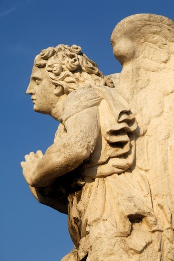 France, Vaucluse, Avignon, Calvary outside Avignon cathedral (detail)    France : Stock Photo