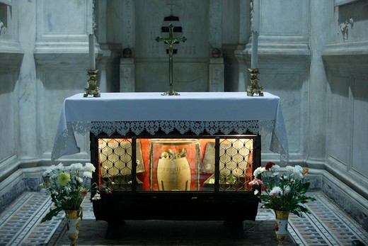 Stock Photo: 1606-127658 Italie, Campanie, Naples, St. Gennaro's bones in Napoli duomo   Italia.