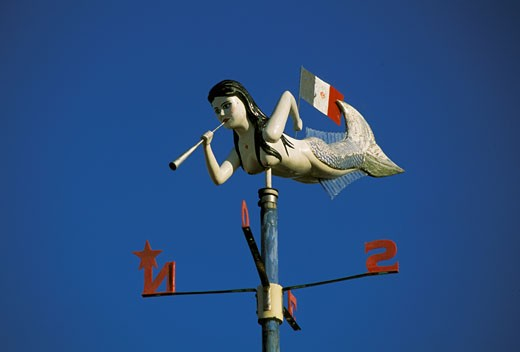 Stock Photo: 1606-12768 Weather vane