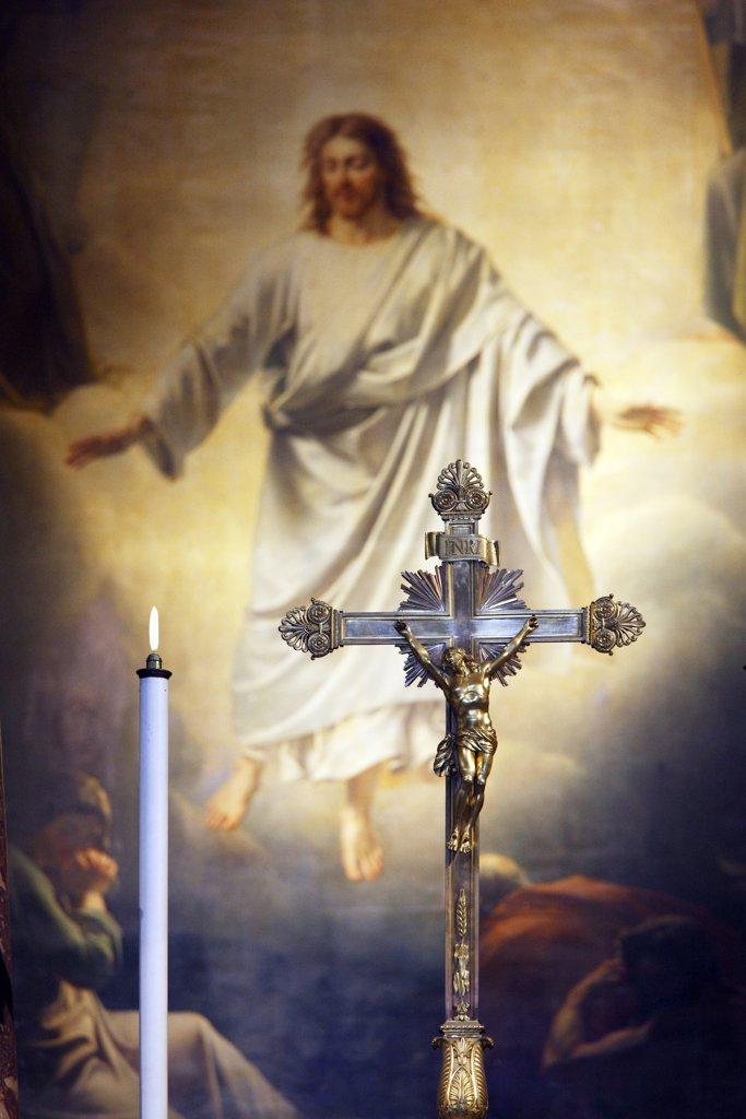 Stock Photo: 1606-128151 France, Brittany, Ille et Vilaine, Rennes, Saint Sauveur basilica