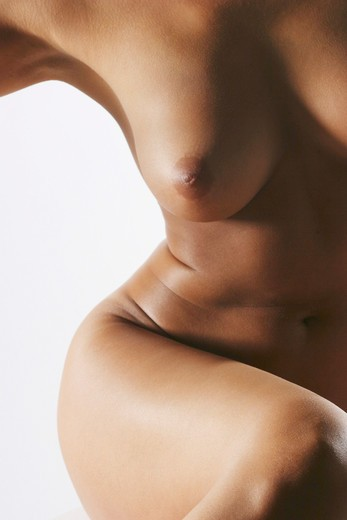 Stock Photo: 1606-130428 Detail of naked woman