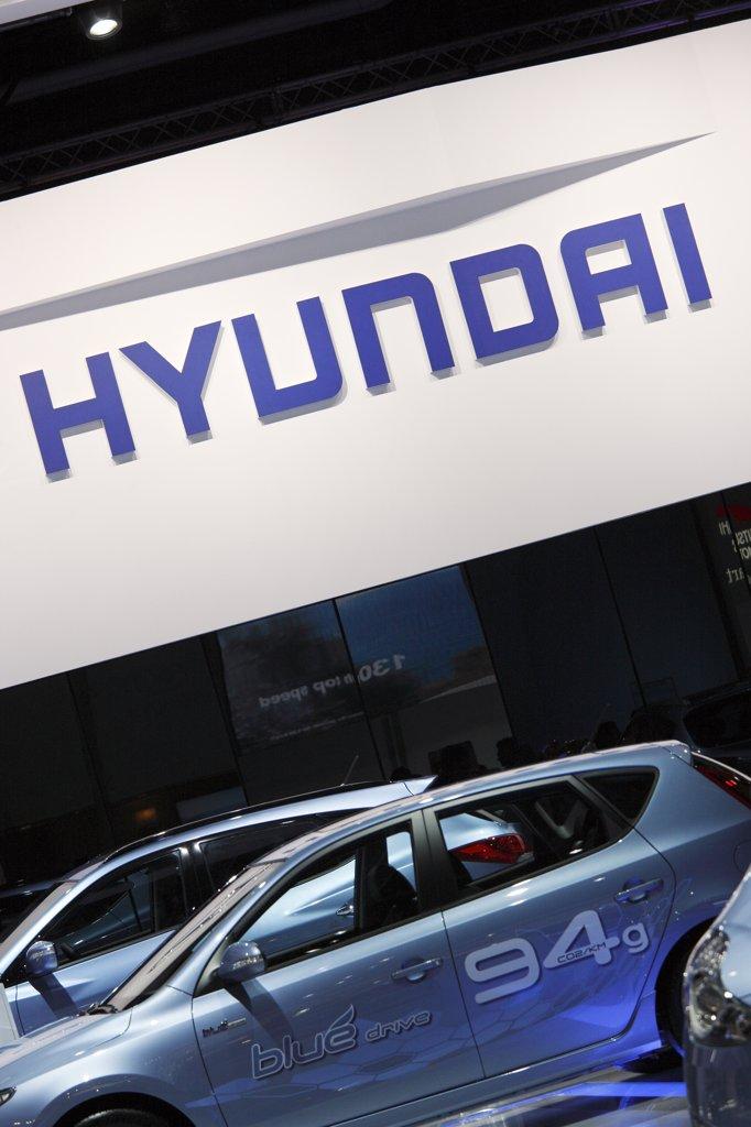 Stock Photo: 1606-131175 Hyundaï car