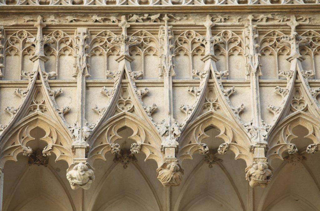 France, Centre val de Loire, Cher (18), Bourges, Jacques Coeur palace : Stock Photo
