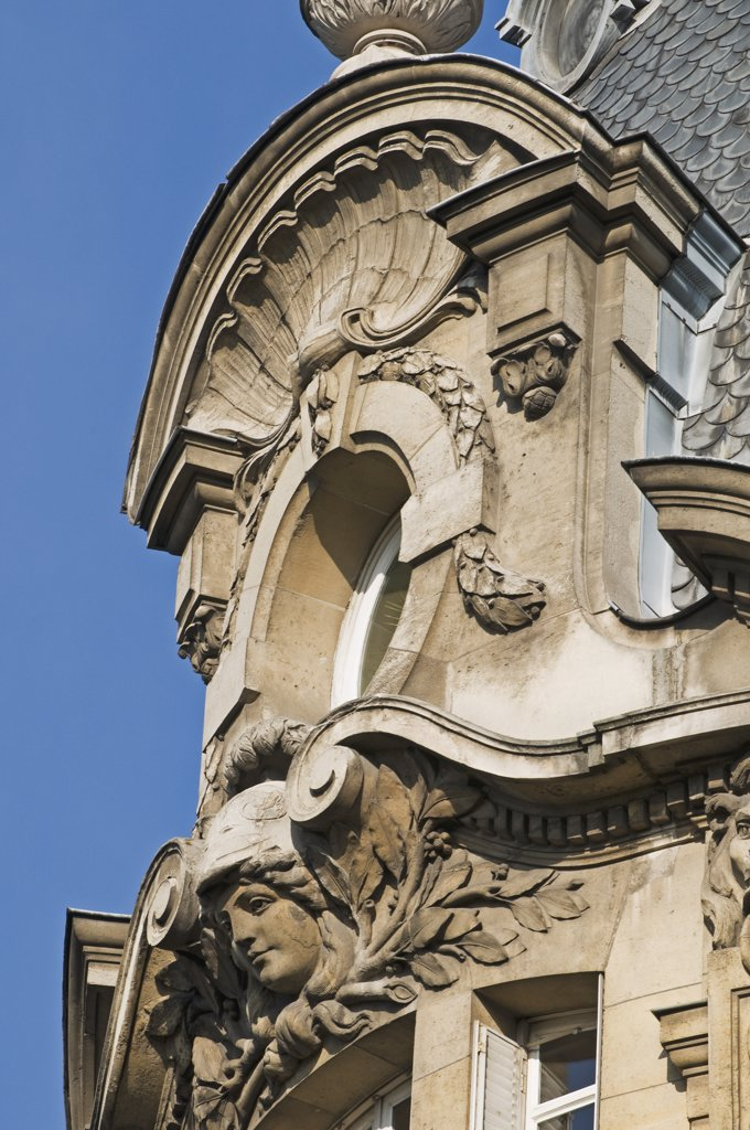 France, Paris, boulevard Beaumarchais : Stock Photo