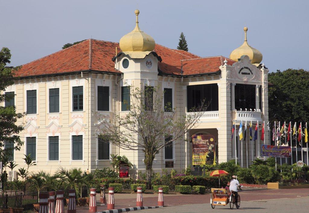 Malaysia, Melaka, Malacca, Proclamation of Independence Memorial; : Stock Photo