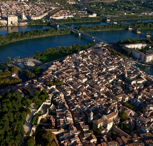 Stock Photo: 1606-134671 France, Provence, Beaucaire and Tarascon