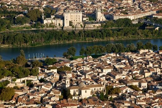 Stock Photo: 1606-134673 Southeastern France, Gard, Beaucaire andTarascon