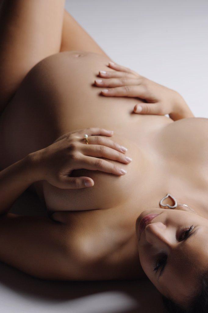 Pregnant woman : Stock Photo
