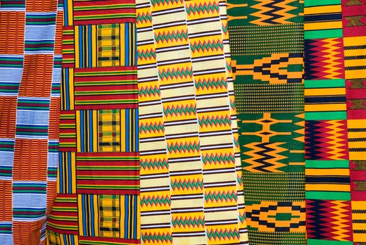 African fabric : Stock Photo