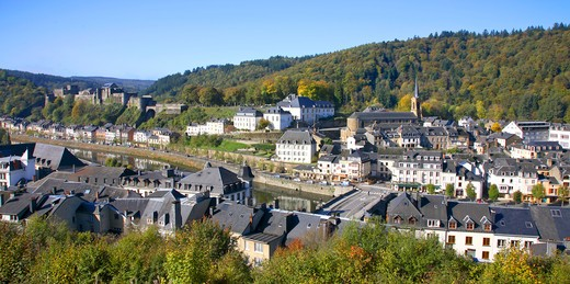 Stock Photo: 1606-137425 Belgium, Luxembourg province, Bouillon