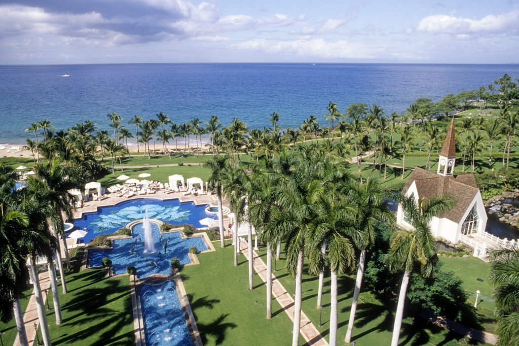 Stock Photo: 1606-138338 USA, Hawaii, Maui island, Wailea, Wailea Grand Resort