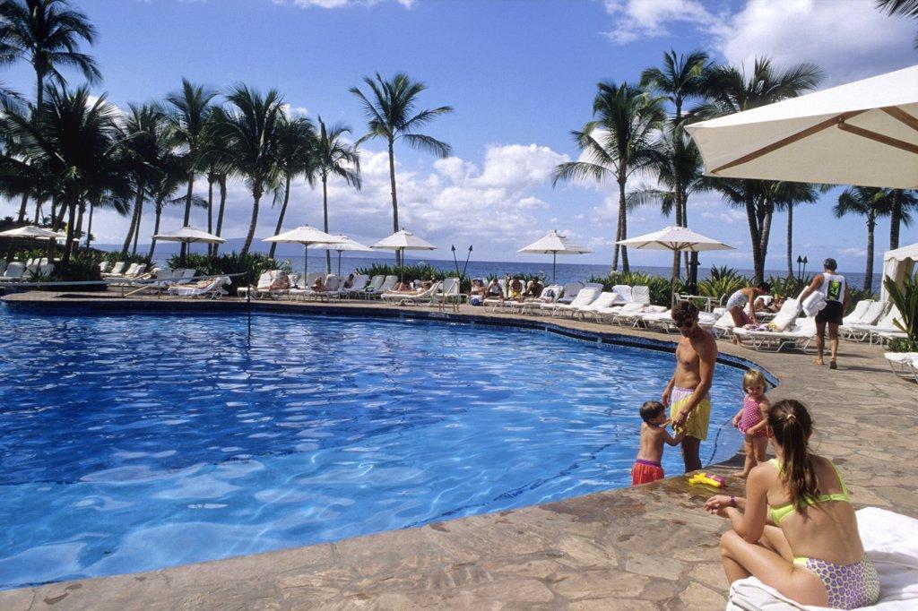 Stock Photo: 1606-138339 USA, Hawaii, Maui island, Wailea, Wailea Grand Resort