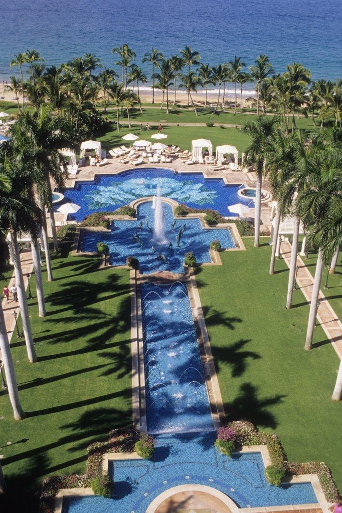 Stock Photo: 1606-138345 USA, Hawaii, Maui island, Wailea, Wailea Grand Resort