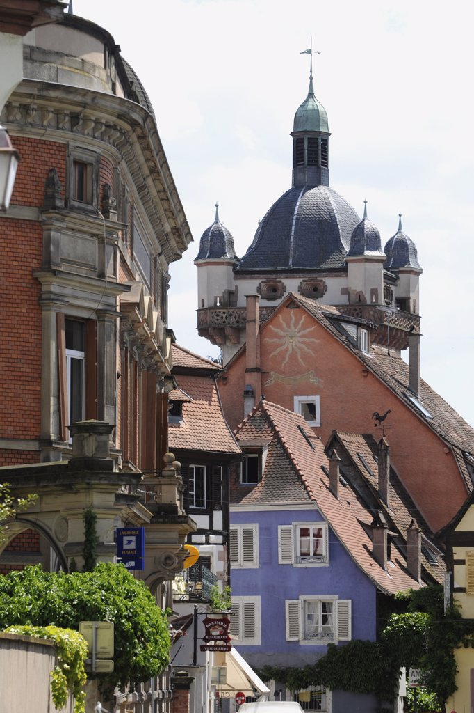 Eastern France, Alsace, Sélestat : Stock Photo